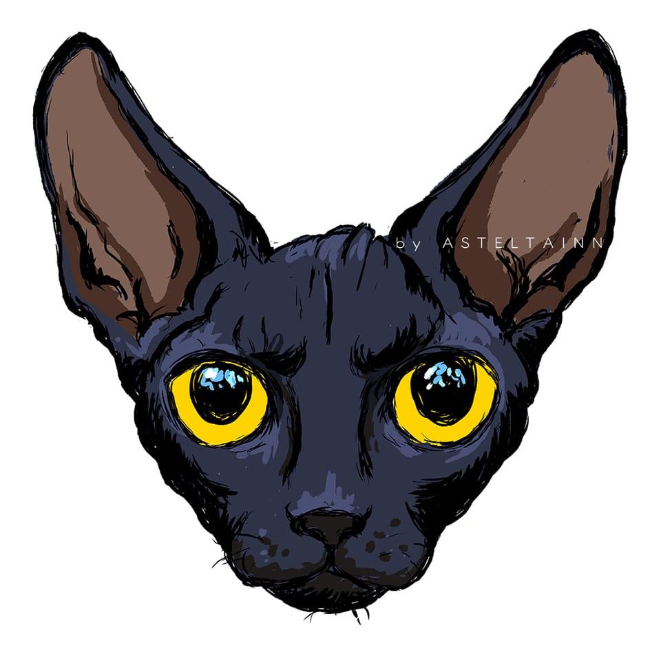 Mapping Pen in MediBang (Video Tut) Illust of asteltainn anime cat manga line_art tutorial