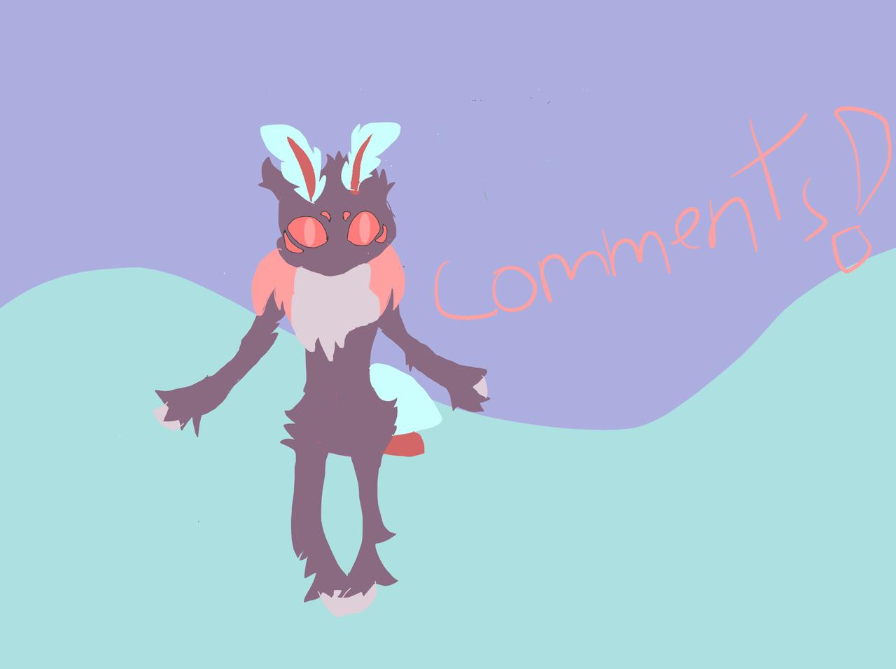 (comments very important ) Illust of Izzy draws ocs!  (Lunamoon medibangpaint