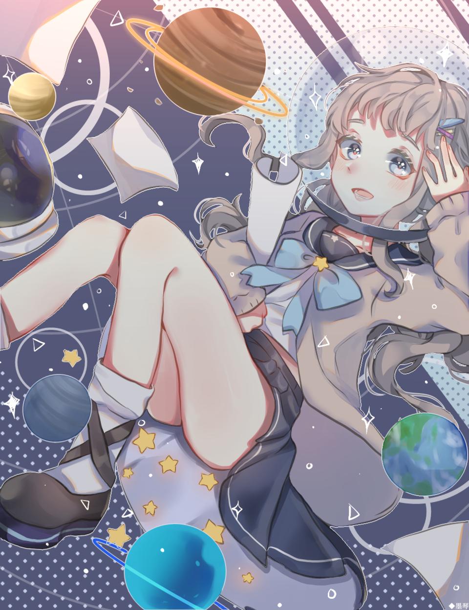 惑星 Illust of もち 墨琴 medibangpaint
