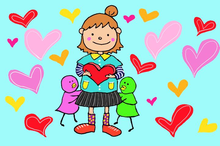 ハッピーバレンタイン💕 Illust of すんこ Feb2020:VDAY Valentine illustration チョコ すんこ
