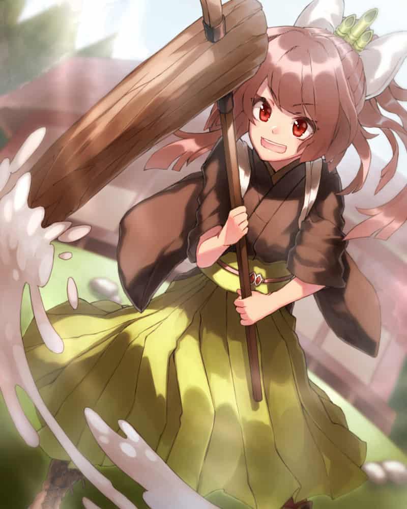 もちつき Illust of ひじり Jan.2020Contest kimono girl