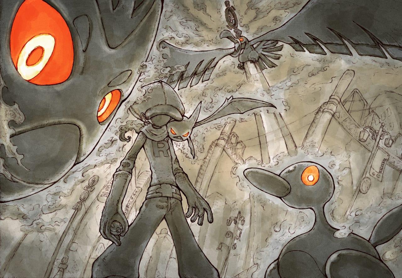 午前5時の都会は妙に罪深い Illust of ウスイソト 東京都 pokemon 豊島区 PokémonGO