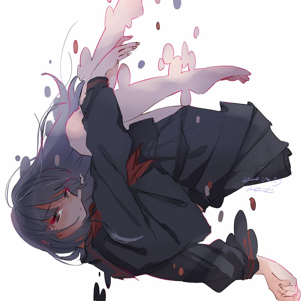 淘汰 Illust of とまり medibangpaint sailor_uniform girl