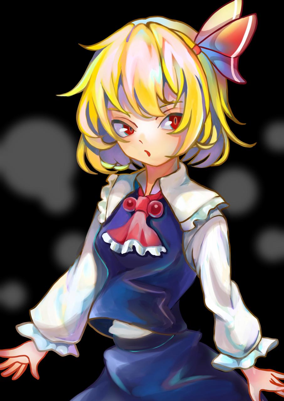 ルーミア Illust of YANAGI Touhou_Project girl medibangpaint